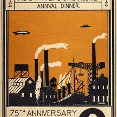 IMechE 75th anniversary dinner invite