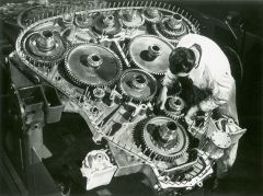 Napier Deltic engine construction